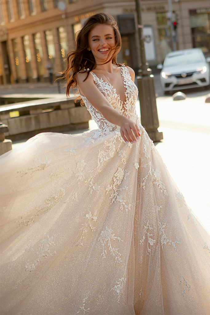 Wedding dresses Dolores - foto 2