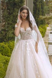 Wedding dresses Leila Color  Blush  Ivory - foto 9