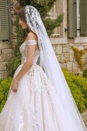Wedding dresses Leila Color  Blush  Ivory - foto 8