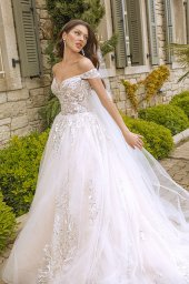 Wedding dresses Leila Color  Blush  Ivory - foto 7
