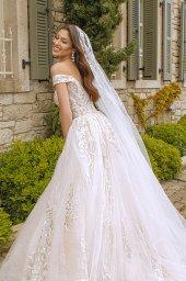 Wedding dresses Leila Color  Blush  Ivory - foto 5