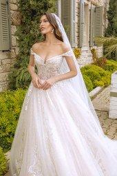 Wedding dresses Leila Color  Blush  Ivory - foto 6