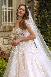 Wedding dresses Leila Color  Blush  Ivory - foto 4
