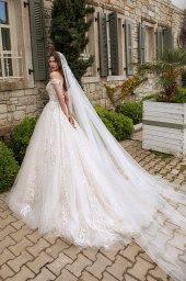 Wedding dresses Leila Color  Blush  Ivory - foto 3