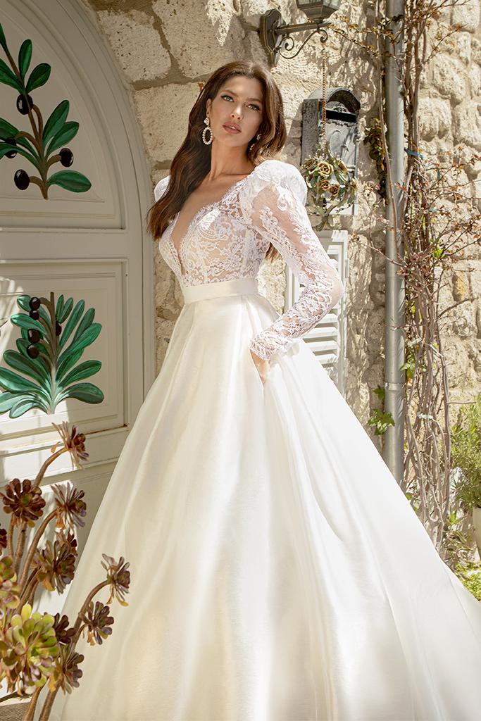 Wedding dresses Lorette Color  Ivory - foto 3