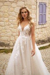 Wedding dresses Vivienne Color  Ivory-blush - foto 4