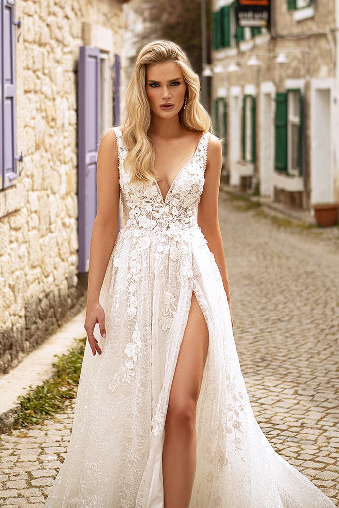 Wedding dresses Vivienne Color  Ivory-blush - foto 2
