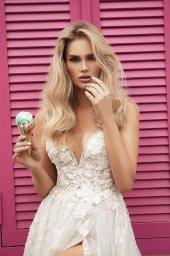 Wedding dresses Vivienne Color  Ivory-blush - foto 9