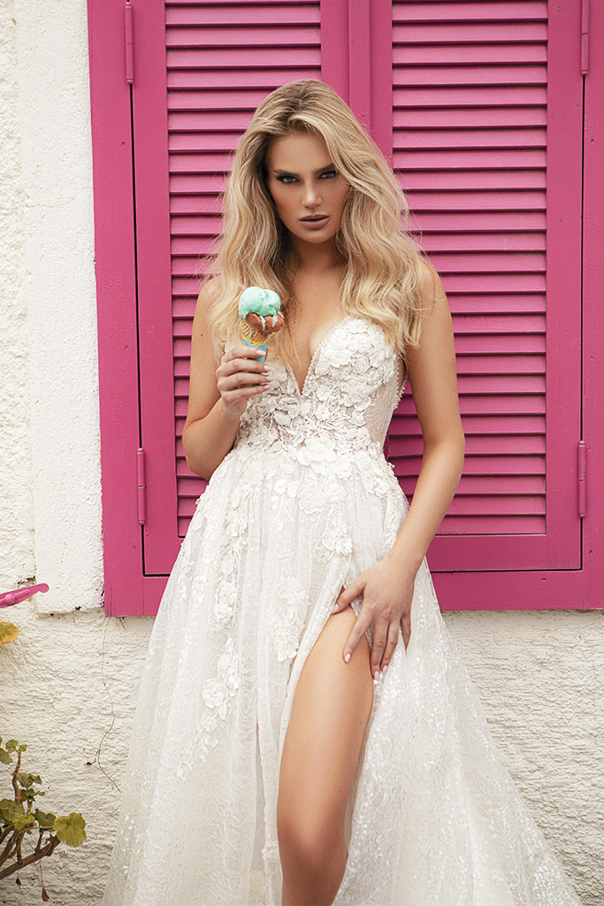Wedding dresses Vivienne Color  Ivory-blush - foto 8