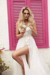 Wedding dresses Vivienne Color  Ivory-blush - foto 7
