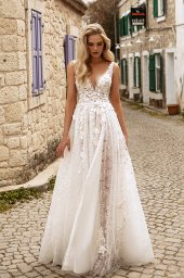 Wedding dresses Vivienne Color  Ivory-blush - foto 6