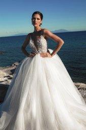 Suknie ślubne Ariella Sylwetka  Princessa  Dekolt  Z ramiączkami - foto 9