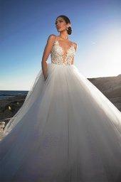 Suknie ślubne Ariella Sylwetka  Princessa  Dekolt  Z ramiączkami - foto 7