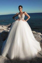 Suknie ślubne Ariella Sylwetka  Princessa  Dekolt  Z ramiączkami - foto 8