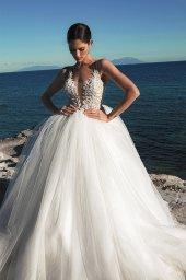 Suknie ślubne Ariella Sylwetka  Princessa  Dekolt  Z ramiączkami - foto 3