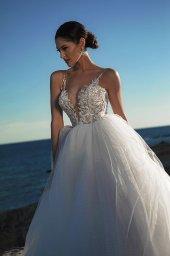 Suknie ślubne Ariella Sylwetka  Princessa  Dekolt  Z ramiączkami - foto 6