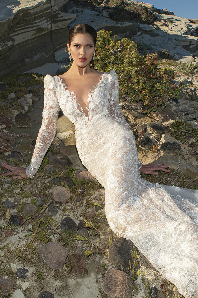Wedding dresses Mia Silhouette  Fitted  Sleeves  Long Sleeves - foto 2