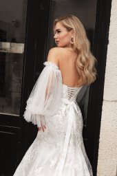 Wedding dresses Angelina Silhouette  Fitted  Neckline  Sweetheart  Sleeves  Sleeveless - foto 2