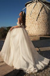 Wedding dresses Chiara Color  Silver  Ivory - foto 4