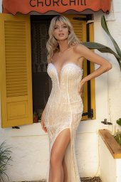 Wedding dresses Ruth-1 Color  Ivory-blush - foto 2