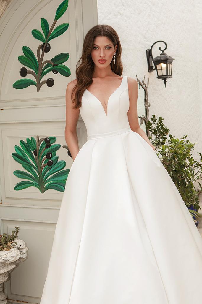 Wedding dresses Luna Color  Ivory - foto 2