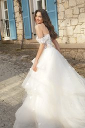 Wedding dresses Fleur Color  Ivory-blush - foto 4