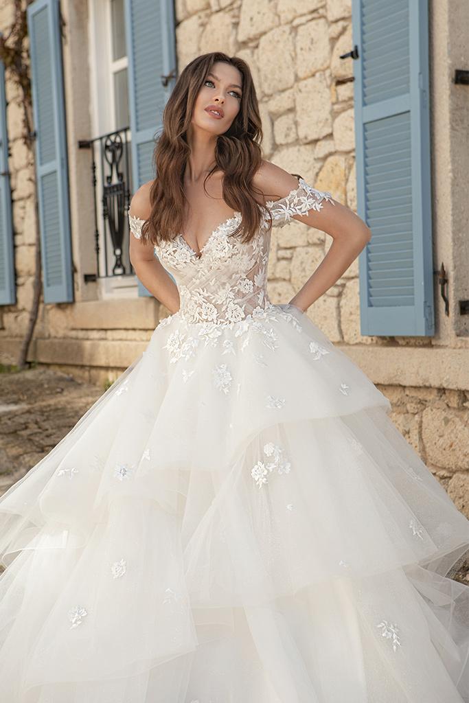 Wedding dresses Fleur Color  Ivory-blush - foto 3