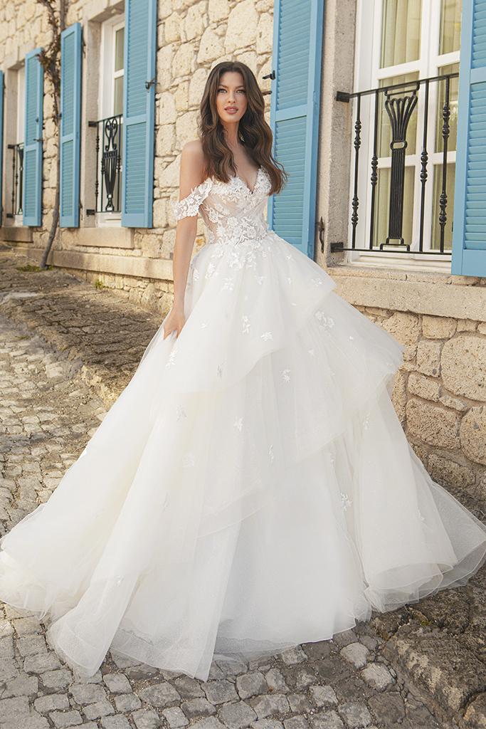 Wedding dresses Fleur Color  Ivory-blush - foto 2