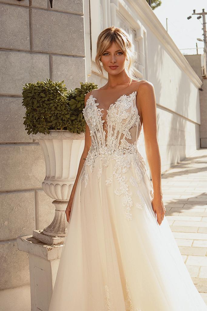 Wedding dresses Medison Color  Blush  Ivory - foto 2