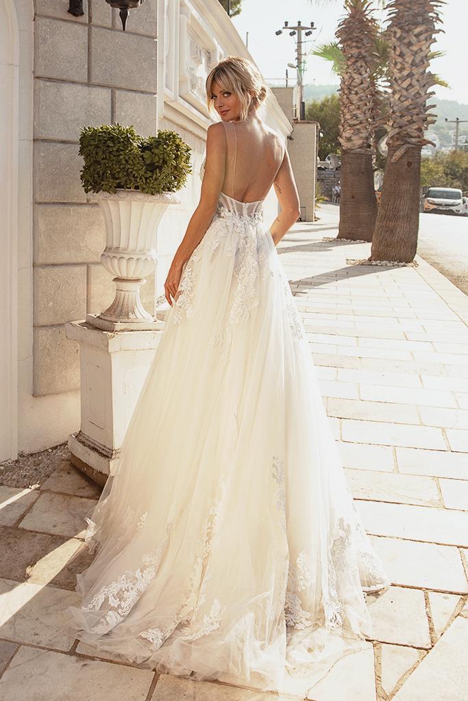 Wedding dresses Medison Color  Blush  Ivory - foto 3