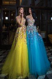 Evening dresses 1841 (blue) - foto 2
