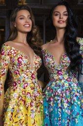 Evening dresses 1841 (blue) - foto 3