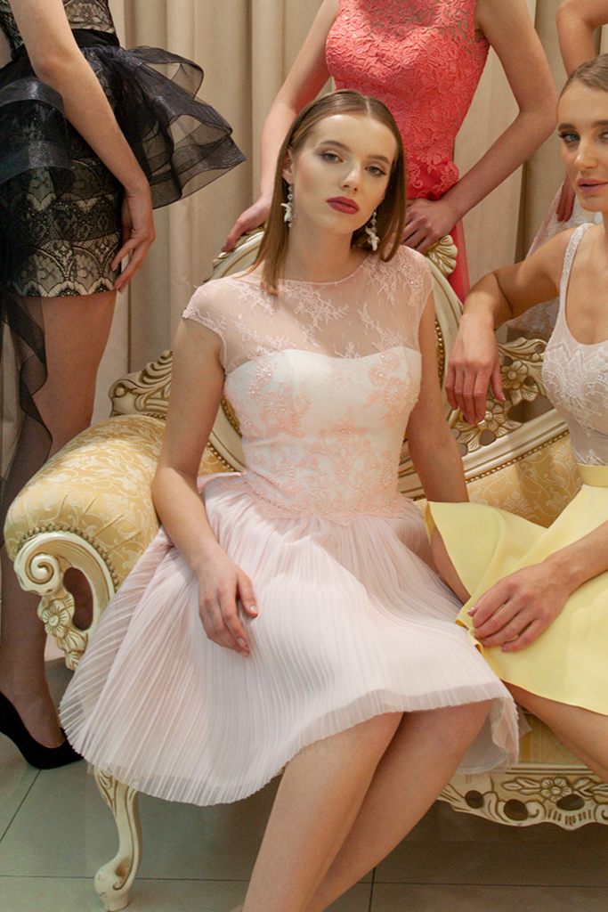 Вечерние платья 1019-6 - Фото 3