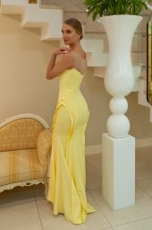 Evening gowns 922 yellow - foto 3