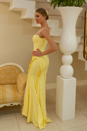 Evening gowns 922 yellow - foto 2