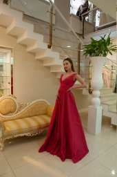 Evening gowns 1597 red - foto 2