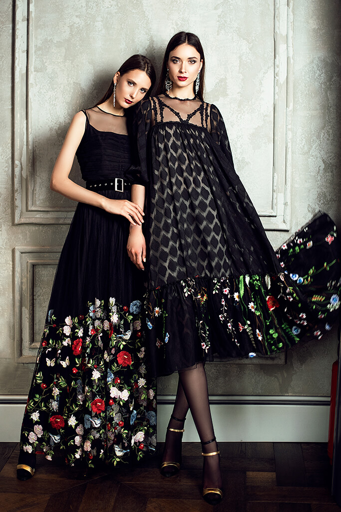 Evening Dresses 1362  1377 Silhouette  Sheath  A Line  Color  Black  Neckline  Jewel  Illusion  Sleeves  Wide straps  3/4 Sleeves  Train  No train
