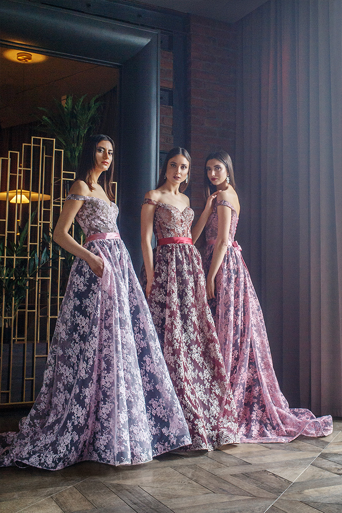 Evening gowns 1420-4 powdery