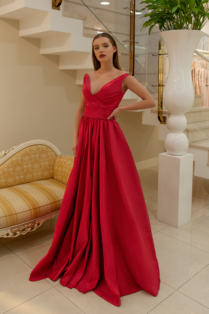 Evening gowns 1597 red