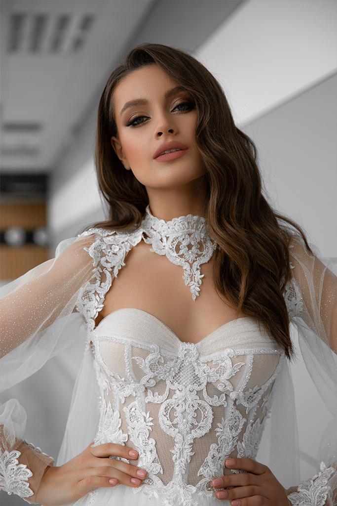 Wedding dresses Lorelay Collection  Gloss  Silhouette  Ball Gown  Color  Ivory  Neckline  Sweetheart  Sleeves  Sleeveless  Train  With train