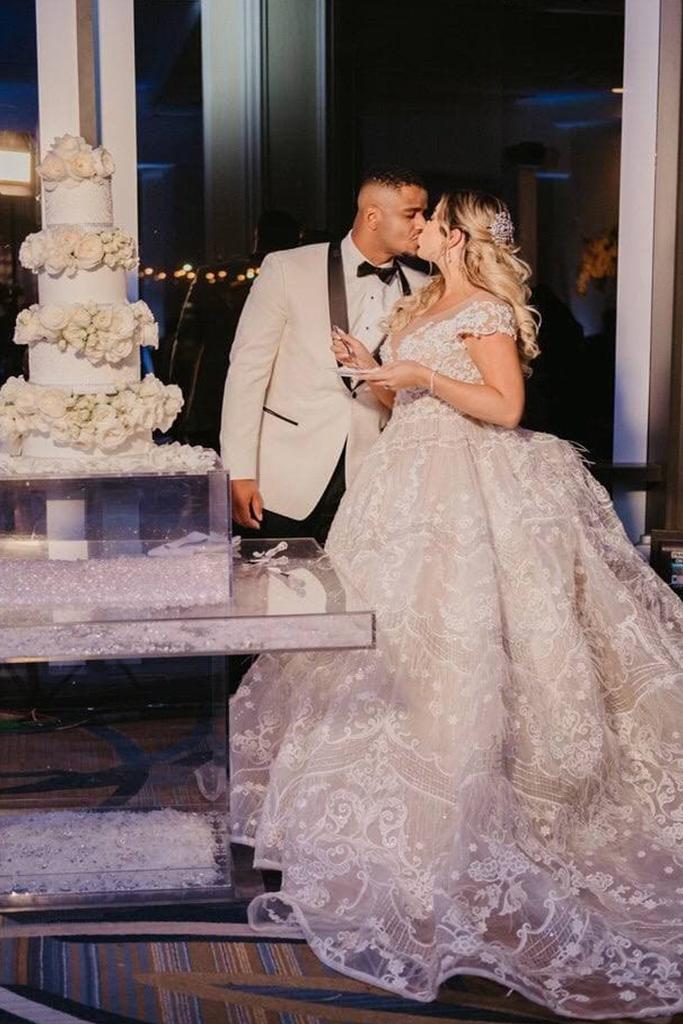 Real brides Elizabeth