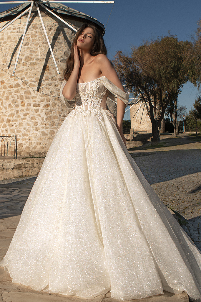 Wedding dresses Chiara Color  Silver  Ivory