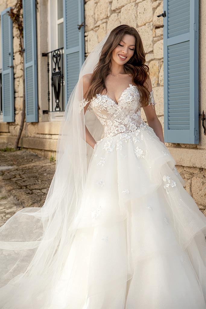 Wedding dresses Fleur Color  Ivory-blush