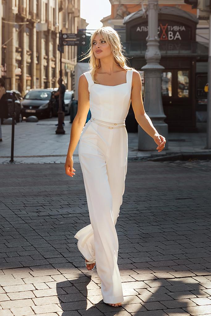 Wedding dress Dezire Color  Ivory  Neckline  Square  Sleeves  Wide straps  Train  No train